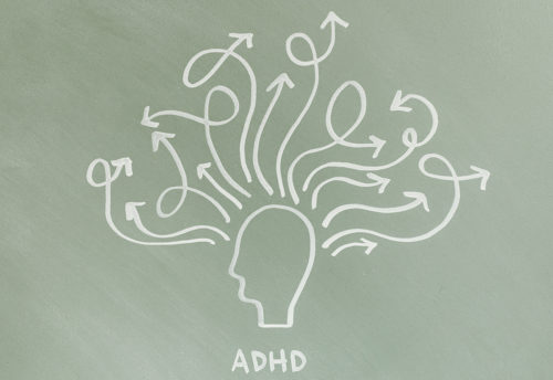 ADHD Brain illustration